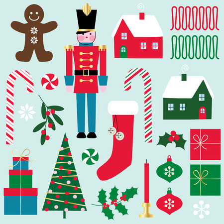 christmas cookie: Christmas clipart Illustration