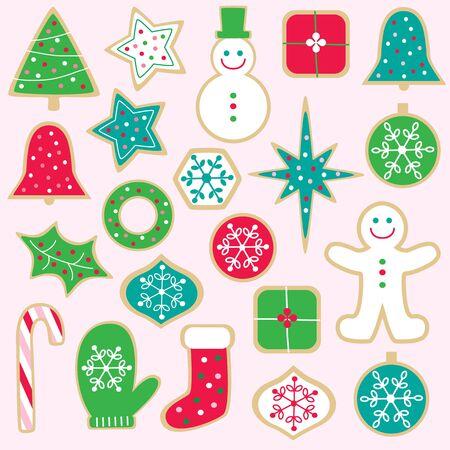 christmas cookie: christmas cookies Illustration