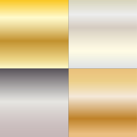 metal gradients Ilustrace