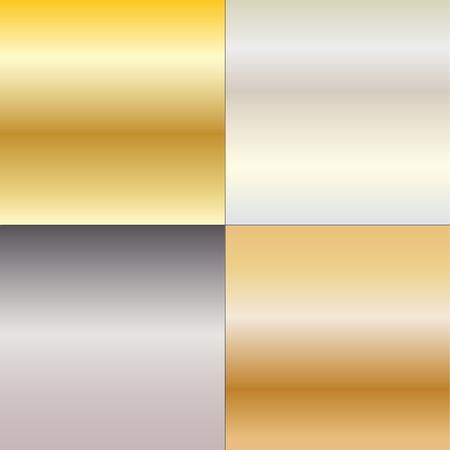 metal gradients Illustration