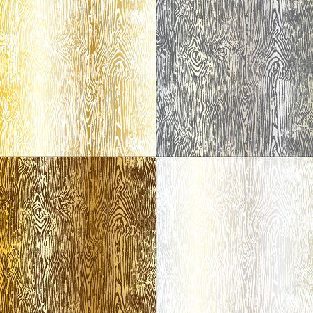 metallic wood grain