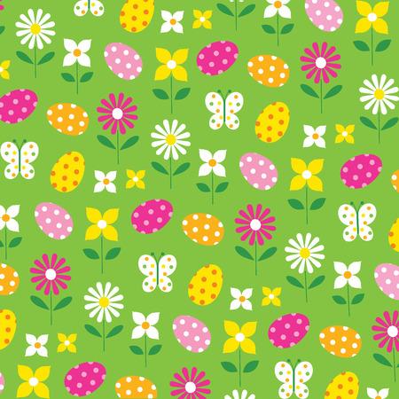 easter flowers 向量圖像