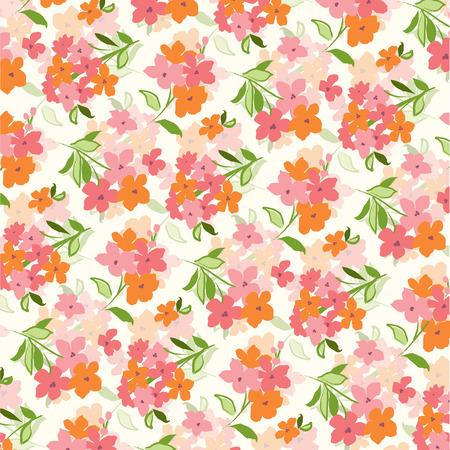 floral pattern Illusztráció