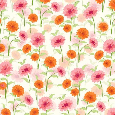 Blumenmuster Standard-Bild - 36363507