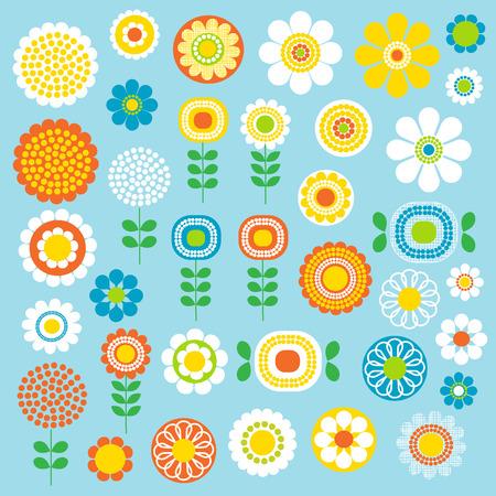 Mod bloemen Stockfoto - 36363514