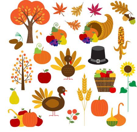 accion de gracias: Clipart de Acci�n de Gracias Vectores