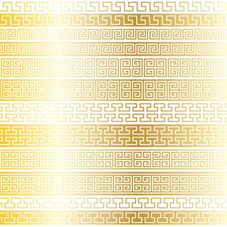 gold Fretwork Borders