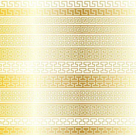 grecas: oro Calado Fronteras