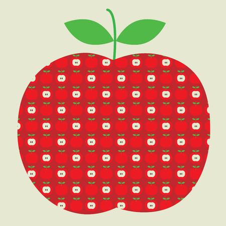 apple illustration Çizim