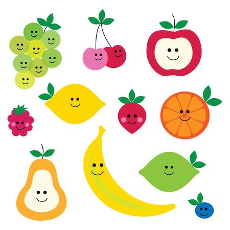 fruit gezicht clipart
