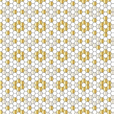 silver: silver gold tiles