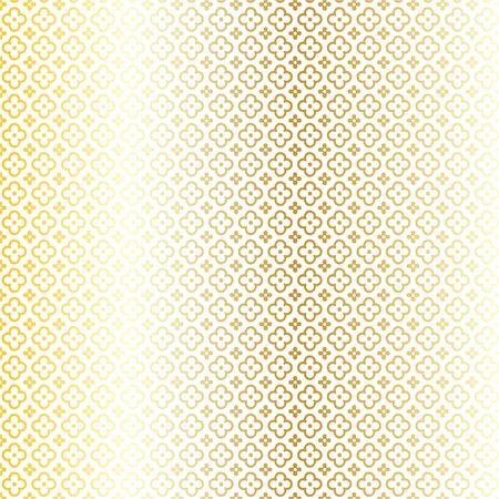 quatrefoil: gold quatrefoil geometric