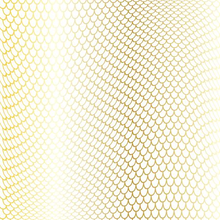 gold white scale pattern