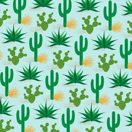 prickly: cactus pattern