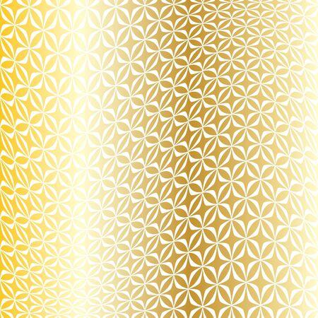 gold white warped geometric pattern