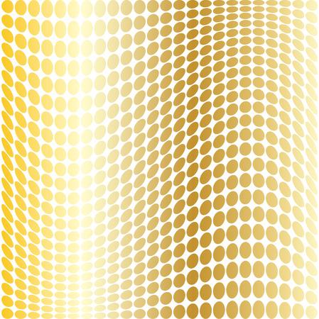 mod: gold mod warped dots
