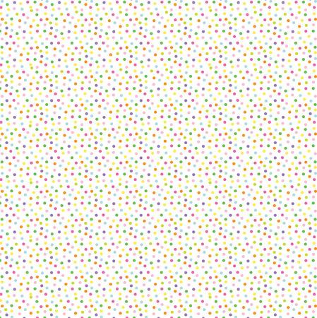 colorful confetti dot background