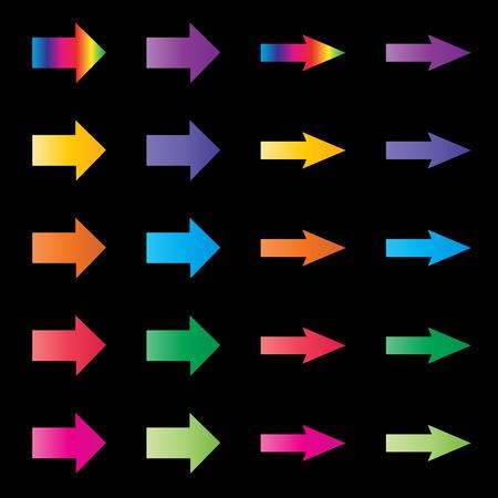 rainbow: rainbow arrows