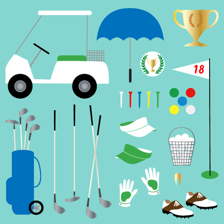 caddy: golf clipart