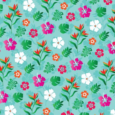 tropical: tropical flowers