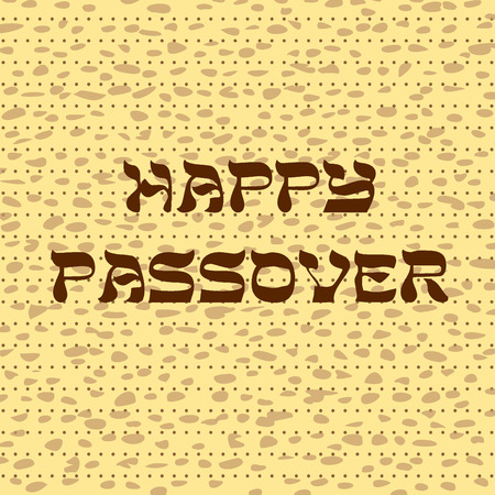 happy passover matzah