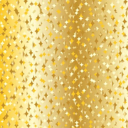 gilt: gradient gold sparkles Illustration