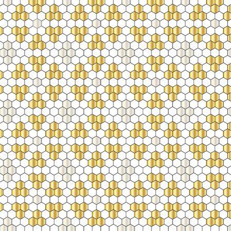 metallic: metallic tile pattern
