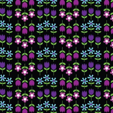 mod tulip pattern Reklamní fotografie - 59805646