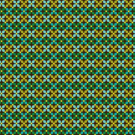 tillable: seamless geometric pattern Stock Photo