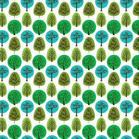 tillable: seamless trees pattern