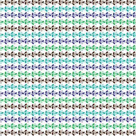 tillable: seamless leaf stripe