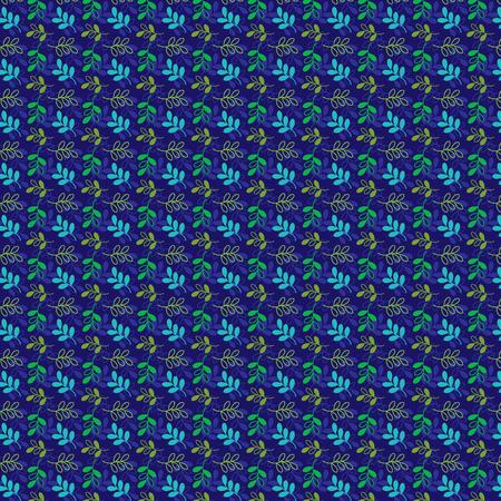 tillable: seamless leaf pattern