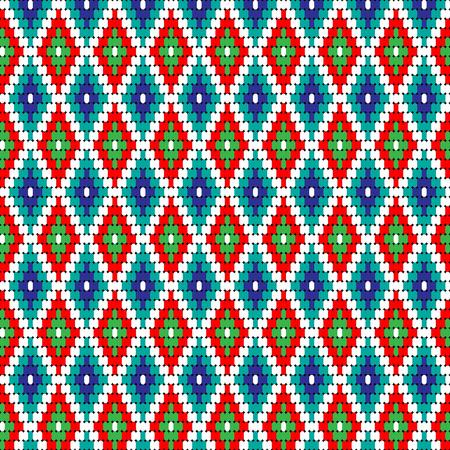 hopi: diamond geometric pattern