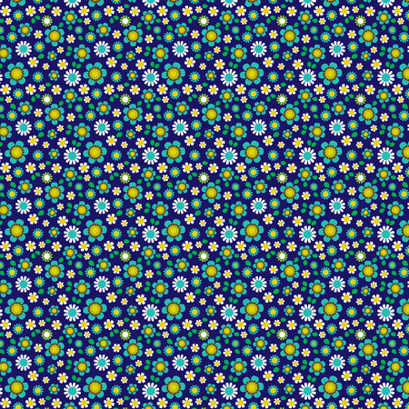 tillable: seamless floral pattern