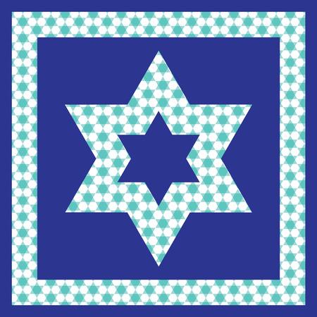 jewish star: Jewish Star pattern