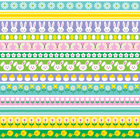 Easter Border Patterns.