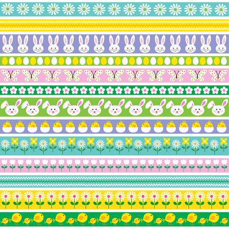 Easter Border Patterns.