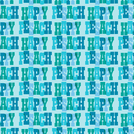 happy pesach typography background