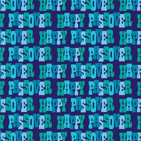 passover typography pattern