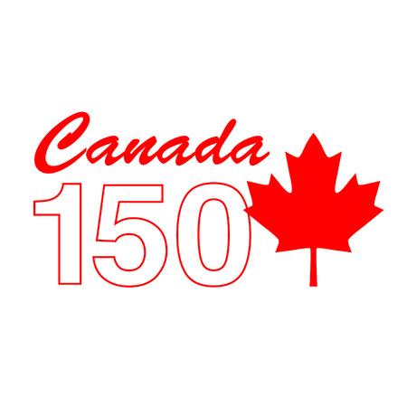 Canada 150 Birthday graphic