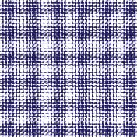 blue white woven plaid