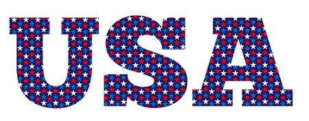 VS sterren Stock Illustratie