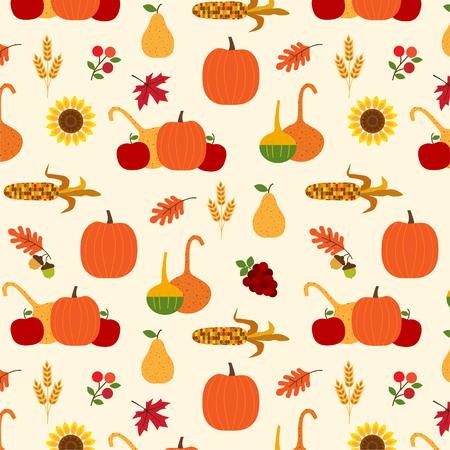 autumn harvest pattern
