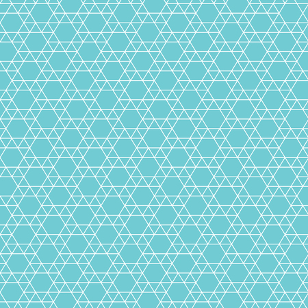 An abstract Jewish star pattern vector illustration. Ilustração