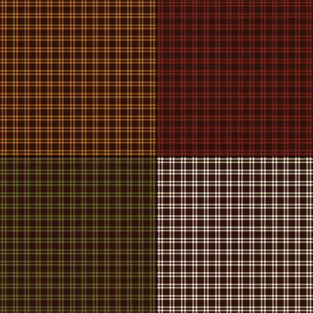 Kleine Herbstplaids Standard-Bild - 88223417