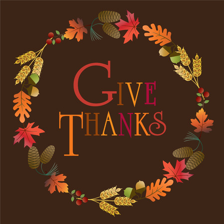 give thanks wreath