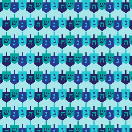 dreidel pattern vector illustration