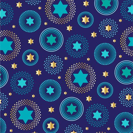 mod jewish star background pattern