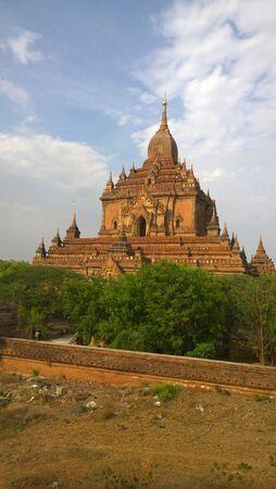 bagan: Bagan Pagoda Stock Photo