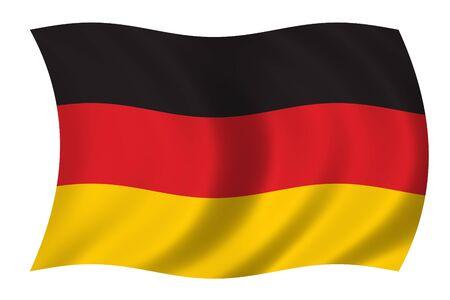 Germany Wave Flag